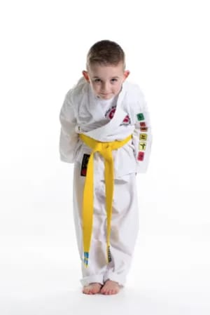 students in Kids Karate in Rhyl - John Lynns BBA