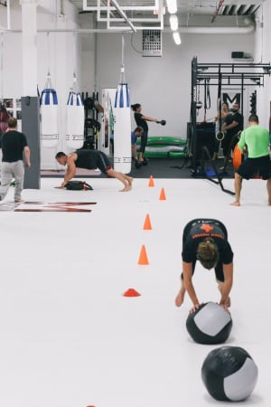 students in fitness in 	 Chicago - Mission MMA And Fitness