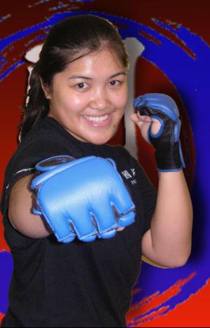 students in fitness kickboxing in Houston - Meyerland Martial Art Center