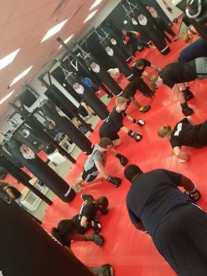 students in strikefit  in 	 Gonzales - S.I.C.A. MMA