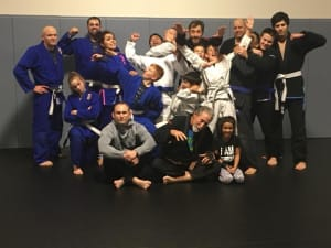 in New Braunfels - Family Jiu Jitsu - Choke out your brother for improved health...: Why Jiu Jitsu is a family activity everyone can get their arms around.