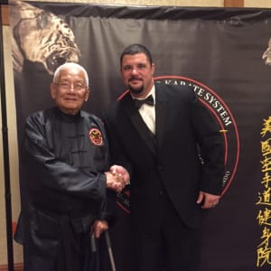 Jason Nackord Promoted to  4th Degree Black Belt