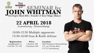 Krav Maga in Swindon - South West Krav Maga - John Whitman Luxenbough Seminar April 2018