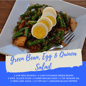 Recipe of the Week: Green Bean, Egg and Quinoa Salad