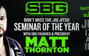 SBG President, Matt Thornton, Is Coming to Straight Blast Gym Buford!