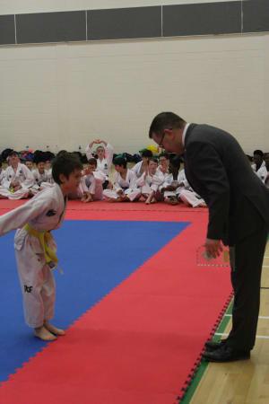 Kids Martial Arts in Balbriggan - Elite Taekwondo Academy - Giving and Receiving Respect