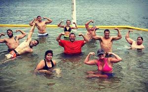 Summertime Lake Workout