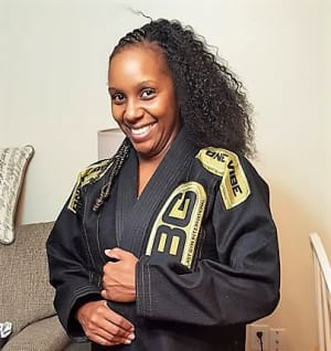 The Martial Artist of the Month is Takia Winrow!