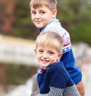 Samuel and David Dodita are March's Kids of the Month
