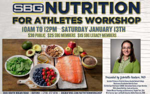 Nutrition for Athletes Workshop