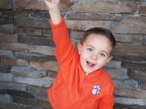 Anders Tweito is December's Kid of the Month