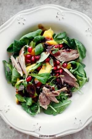 Kristy's Duck and Mango Summer Salad