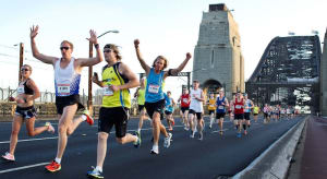 Enliven Fitness takes on the Blackmores Running Festival