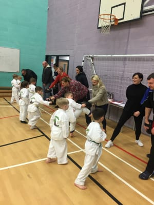 in Leicester - MG Black Belt Academy - Parent coaching at kids martial arts Leicester