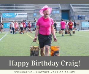 Personal Training in Brampton - Impact Fitness - Happy Birthday Craig!