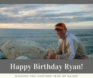 Personal Training in Brampton - Impact Fitness - Happy Birthday Ryan!