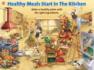 Learning to be healthy Starts in the Kitchen: Weight loss has to start somewhere.