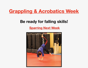 Kids Martial Arts in Houston - Meyerland Martial Art Center - This week is Grappling and Acrobatics!