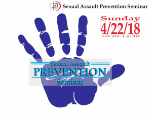 Sexual Assault Prevention Seminar