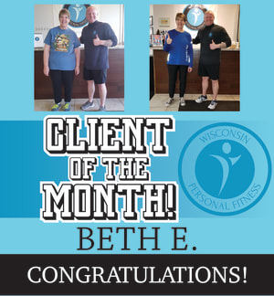 Personal Training in New Berlin - Wisconsin Personal Fitness - March Client of the Month!