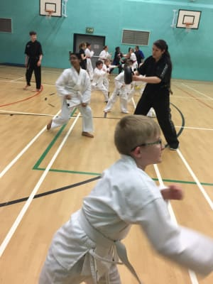 in Leicester - MG Black Belt Academy - Kids martial arts in Leicester team work!