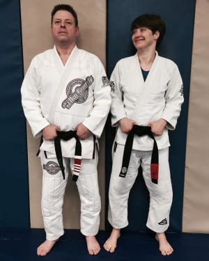 First Female Black Belt