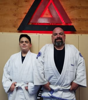 Father and Son share Jiu-Jitsu Journey