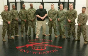 Sharing Self Defense Jiujitsu with U.S. Marines