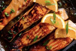 Recipe Of The Week: Crispy Honey Orange Glazed Salmon