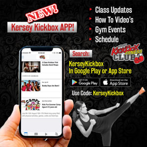 Fitness Kickboxing  in Windsor - Kersey Kickbox Fitness Club - New! Kersey Kickbox APP!