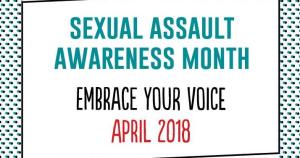 WWW April - Sexual Assault Awareness Month