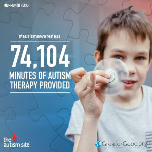 Our Students help provide therapy to kids with Autism