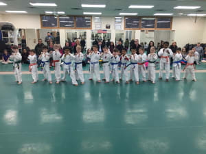 in Racine - Chay's Tae Kwon Do - Little Ninja Belt Test