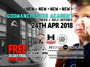New Hyper Academy opening announced in Godmanchester (Huntingdon) for Kids 24th April!