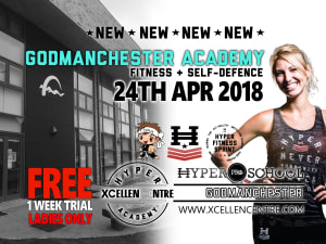 New Hyper Academy opening announced in Godmanchester (Huntingdon)- Adults on the 24th April!