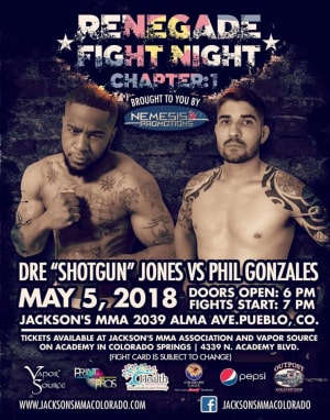 Phil Gonzalez FIGHT ANNOUNCEMENT! Phil's back in the cage 5/5 for Nemesis Promotions | Jackson's MMA Assoc. Colorado!