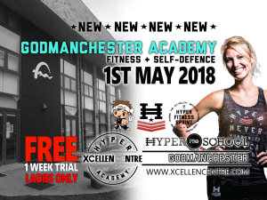 New Hyper Academy LIVE LAUNCH announced in Godmanchester (Huntingdon) - Adults 1st May!