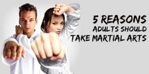 5 Reasons Adults Should Take Martial Arts