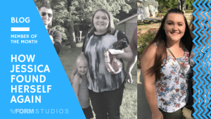 Personal Training in North Charleston - reFORM Studios - How Jessica Found Herself Again
