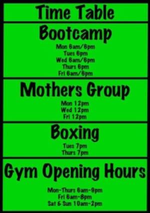 Personal Training Ballarat, Bootcamp Ballarat and Mums Bootcamp Ballarat