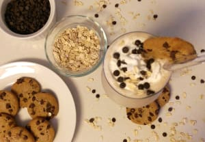 Chocolate Chip Cookie Dough Smoothie