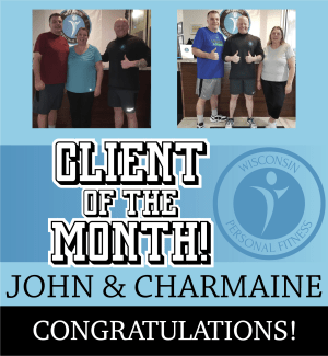 Personal Training in New Berlin - Wisconsin Personal Fitness - April Client of the Month!