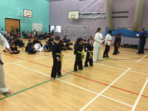 in Leicester - MG Black Belt Academy - Another successful belt test at kids martial arts Leicester