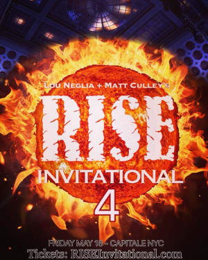 Rise Invitational 4 this Friday Featuring Zach Maslany