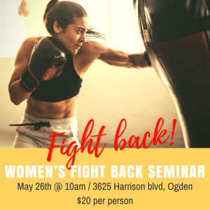 in Ogden - Victory Self Defense & Fitness - Women Fight Back!!!