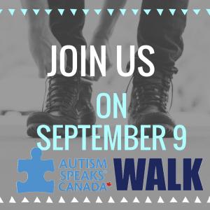 Personal Training in Brampton - Impact Fitness - Join us on September 9 for Autism Speaks Orangeville 3K Walk