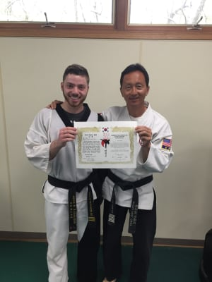 Welcome to our newest 4th degree black belt!