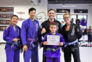 in Buford - Straight Blast Gym Buford - Tavin Schreiner is June's Kid of the Month
