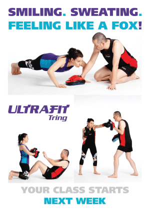 in Tring - Tring Martial Arts - Introducing UltraFit