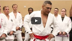 Rickson Gracie Becomes a Red Belt